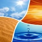 4 ELEMENTI vesi õhk tuli maa